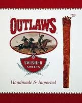 SWISHER SWEETS OUTLAWS PACK6/8