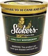 STOKERS LC WINTERGREEN 12 OZ TUB