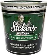 STOKERS FC WINTERGREEN 12 OZ TUB