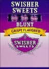 SWISHER SWEET BLUNT GRAPE 10/5 PK