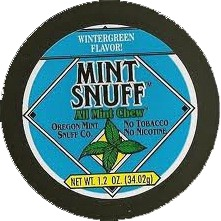 MINT SNUFF POUCH BOX/12