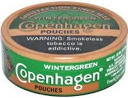 COPENHAGEN POUCH WINTERGREEN ROLL/5