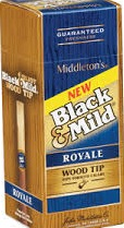 BLACK & MILD WOOD TIP ROYALE UPR