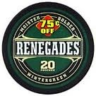 RENEGADE 75¢ OFF ROLL/5