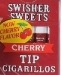 SWISHER SWEET TIP CIG CHERRY 20/5PK
