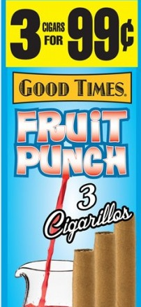 GOOD TIMES CIG FRUIT PUNCH 3/.99