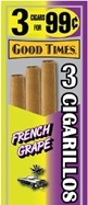 GOOD TIMES CIG FRENCH GRAPE 15/3/.99