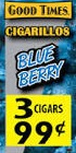 GOOD TIMES CIGARILLO BLUBRY 3/.99