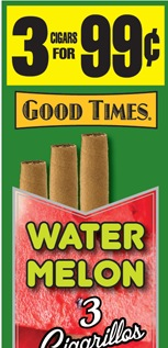 GOOD TIMES CIG WATERMELON 15/3/.99