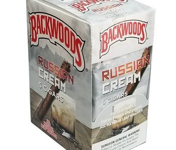 BACKWOODS RUSSIAN CREAM 8/5 PK