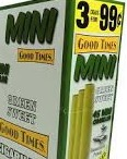GOOD TIMES CIG MINI GREEN SWT 3+2=5.99