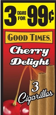GOOD TIMES CIG MINI CHERRY MANGO 3+2=5.99