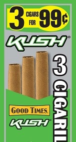 GOOD TIMES CIG MINI KUSH 3/.99