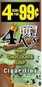 4 KINGS MINT CHOC CHIP 15/4/.99
