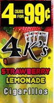 4 KINGS STRAWBERRY LEMONADE 15:4/.99