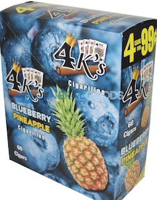 4 KINGS CIG BLUEBERRY PINEAPPLE 4/.99