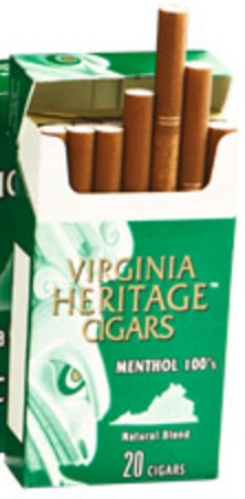 VIRGINIA HERITAGE FILTER MENTHOL