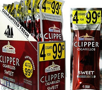 CLIPPER CIGARILOS SWEET 4/.99