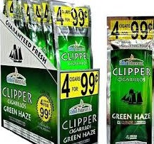 CLIPPER CIGARILOS WHITE GRAPE 4/.99