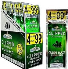 CLIPPER CIGARILOS GREEN HAZE 4/.99