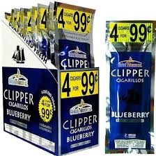 CLIPPER CIGARILOS BLUEBERRY 4/.99