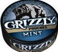 GRIZZLY MINT POUCHES ROLL/5