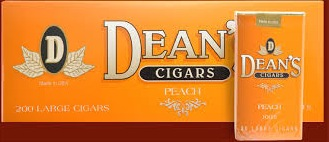 DEAN'S LARGE CIGARS PEACH