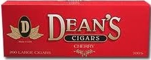 DEAN'S LARGE CIGARS CHERRY