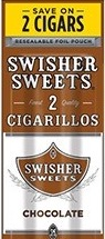 SWISHER SWEET CIG CHOCOLATE 2/.99
