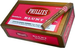 PHILLIES BLUNT STRAWBERY BOX 55