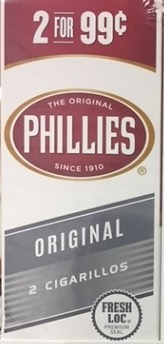 PHILLIES CIG ORIGINAL 2/.99