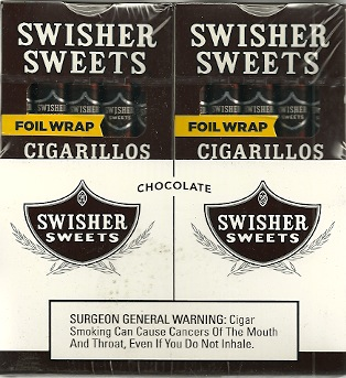 SWISHER CIGARILLO CHOCOLATE 20/5PK