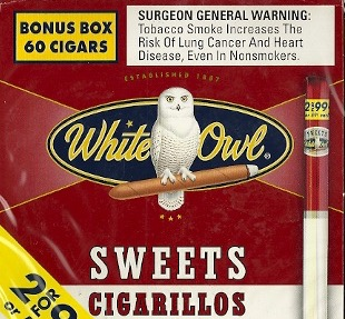 WHITE OWL CIG FF SWEET .99 BOX/60