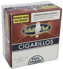 WHITE OWL CIGARILLOS BOX/60
