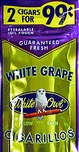 WHITE OWL CIG WHITE GRAPE 2/.99 PCH