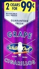 WHITE OWL CIG GRAPE 2/.99 PCH