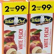 WHITE OWL WHITE PEACH 2/.99