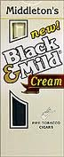 BLACK & MILD CREAM 10/5 PACK