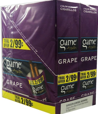 GAME CIG GRAPE 2/.99