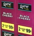 GAME CIG BLACK CHERRY 2/.99
