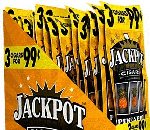 JACKPOT CIGARILLO PINEAPPLE 3/$.99