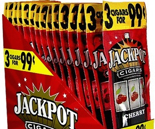 JACKPOT CIGARILLO CHERRY 3/$.99