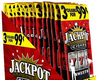 JACKPOT CIGARILLO SWEETS 3/$.99