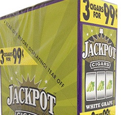 JACKPOT CIGARILLO WHITE GRAPE 3/.99