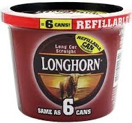 LONGHORN TUB LC STRAIGHT 7.2 OZ