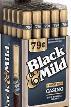 BLACK & MILD CASINO WOOD TIP 25/ .79