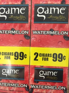 GAME CIG WATERMELON 2/.99