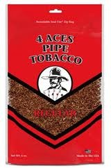 4 ACES REGULAR LARGE PIPE TOBACCO
