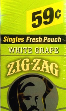 ZIG ZAG CIGARILLOS WHT GRAPE .59