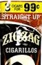 ZIG ZAG CIGARILLOS STRAWBERRY 3/.99
